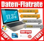17 Zoll Laptop/Notebook mit mobiler Internet Flatrate und Surf-Stick