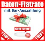 Mobile Internet Flatrate mit USB-Stick DSL plus Bar-Auszahlung
