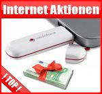 Internet Flat plus USB-Web-Stick mit Flatrate und Bargeld