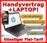 Neues Handy und Notebook als Handy Bundle