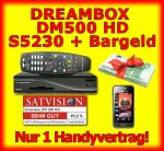Handybundle mit Dreambox DM800 HD plus Handy S5230 und Bargeld