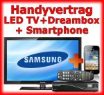 Handy Bundle Dreambox DM800 HD, LED TV und Handy mit Touchscreen