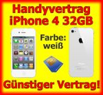 Handyvertrag mit iPhone 4 in weiß