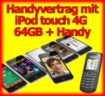 Handyvertrag mit iPod touch 4G 64GB mit Facetime, Handy Bundles