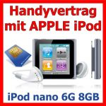 Handyvertrag mit iPod nano 6G 8GB als Handy Bundle