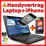 Handyvertrag iPhone 4 und Laptop im Handy Bundle