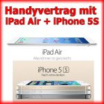 Handyvertrag iPhone und iPad im Handy Bundle