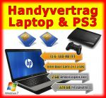 Handyvertrag mit Laptop und Playstation PS3 als Handy Bundle