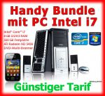 Handyvertrag mit PC im Handy Bundle Computer Intel i7
