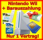 Handy Bundle mit Nintendo Wii